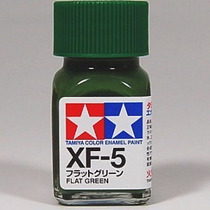 Tinta Esmalte Tamiya Enamel Xf-5 Flat Green 10ml Frete Baixo