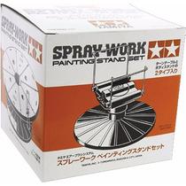 Suporte Para Pintura Tamiya - Spray-work Painting Stand Set