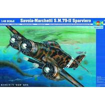 Savoia-marchetti S.m.79-ii 1/48 Trumpeter 02817