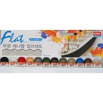 Kit Tintas P/modelismo Academy Kits Flat Ou Afv