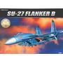 Avião Sukhoi Su27 Flanker B Academy Kit Tipo Revell E Tamiya