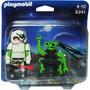 Playmobil Duo - Astronauta Com Robô Espião - 5241
