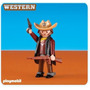 Playmobil Western Add On - Sheriff Nova Linha - 6277 Lacrad