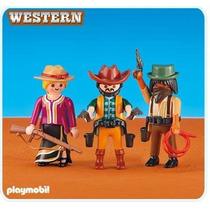 Playmobil Velho Oeste - Novos Cowboys - 6278 - Add On Lacrad