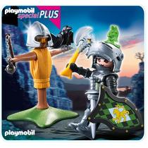 Playmobil Soldado Medieval Em Treinamento Código 4768