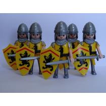 Playmobil Medieval Cd Um Soldado Lion Monte Sua Tropa