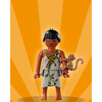 Playmobil Figures - Série 2 - Meninas - Jane Esposa Tarzan