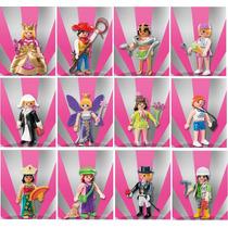 Playmobil Coleção Completa Com 12 Bonecos Da Série 7 (5538)