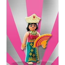 Playmobil Figures Série 7 = Ásia Mulher Oriental