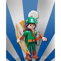 Playmobil Figures 7 Medieval Guerreiro = Hobin Hood 2015