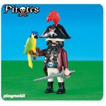 Playmobil 6289 Pirata Com Papagaio