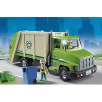 Playmobil Caminhao De Reciclagem 5938 - Sunny