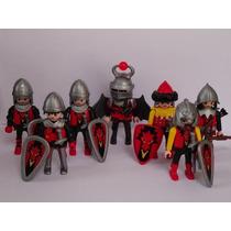 Playmobil Medieval Red Dragon Tropa 7 Guerreiros