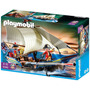 Playmobil 5140 Navio Soldados Inglêses - Lacrado!