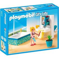 Playmobil 5577 Banaheiro City Life (lançamento)