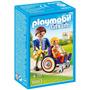 Playmobil 6663 Criança Na Cadeira De Rodas (lançamento)