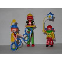 Playmobil Figures Série 8, 7, 4 - Circo 3 Grandes Palhaçõs
