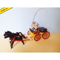 Playmobil Velho Oeste Carroça Dos Confederados!