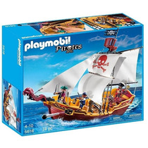 Playmobil - Navio De Ataque Pirata Red Serpent Cod: 5618