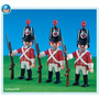Playmobil 7675-3 Soldados Ingleses Infantaria-add On Lacrado
