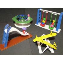 Mini Parque Diversão Com Bonecos Modelo Playmobil Lego