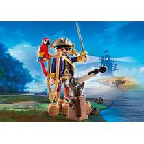 Playmobil Pirata 6684 Grande Pirata Bengala & Canhão Lacrado