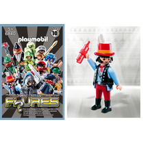 Playmobil Wester Figures Série 10 Pistoleiro Ladrão Tesouro