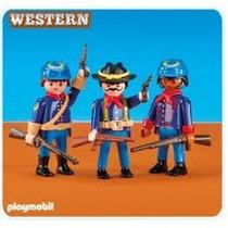 Playmobil 6247 - Soldados Western