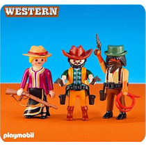 Playmobil Add On 6278 2 Cowboys And Cowgirl