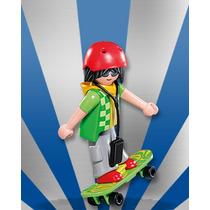 Playmobil Da Série 7 Skate Com Ipod