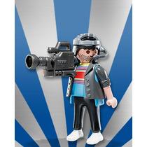 Playmobil Da Série 7 Camera Da Tv Globo
