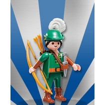 Playmobil Medieval Figures Série 7 Arqueiro Robin Hood