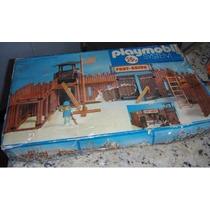 Playmobil Fort Union Trol Velho Oeste - Na Caixa Original!