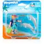 Playmobil Duo Pack - Praia 2 Golfinhos (5876)
