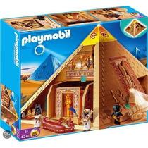 Playmobil Egito - Grande Pirâmide Egípcia - 4240 Cxcompleta