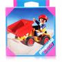 Boneco Playmobill - Especiais - Carro Amarelo C/ Caçamba