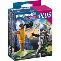 Kit Boneco Playmobil Special Plus Cavaleiro Do Leão