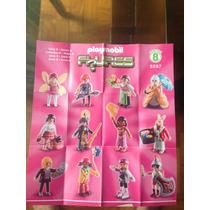 Playmobil Coleção Completa Com 12 Bonecos Da Série 8 Menina