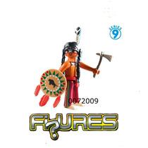 Playmobil Wester Figures Série 9 Grande Ìndio