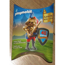 Playmobil 1974-2014 40th Happy Birthday Knight Figure Gold