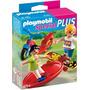 Playmobil Special Plus 4789 - Crianças Com Skate E Patinete