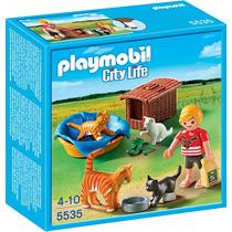 Playmobil 5535 Criação De Gatos
