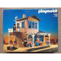 Playmobil Western Colorado Springs 3770 Raríssimo Cx Complet