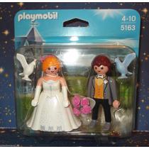 Playmobil 5163 Casal De Noivos.