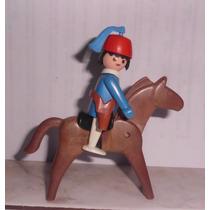 Playmobil - Boneco E Cavalo