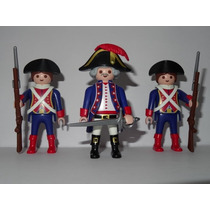 Playmobil Piratas Trio General Francês & 2 Soldados 2015