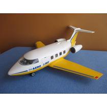 Playmobil 3185 Aeroporto Avião Aerolinas Otimo Estado
