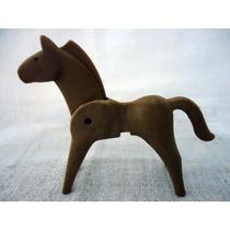 Playmobil-224 - Cavalo Antigo Geobra - Fazenda - Cowboy