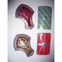 Playmobil-005 - 4 Escudos Romanos E Medievais Grandes