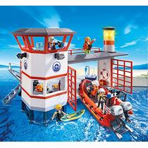 Playmobil Código 5539 Farol Com Luz